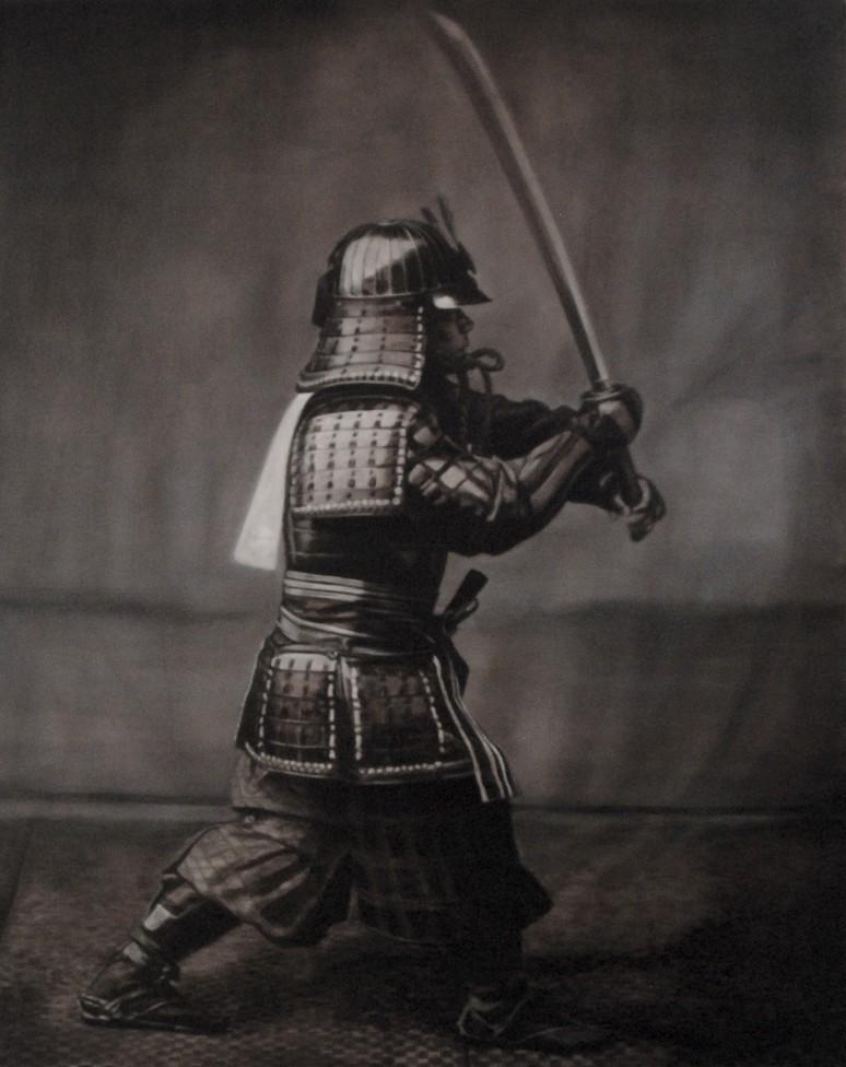 Samurai    45 x 36    oil on canvas     2014      sold